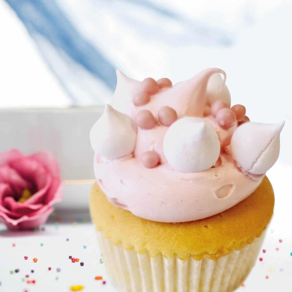 Cupcake meringue