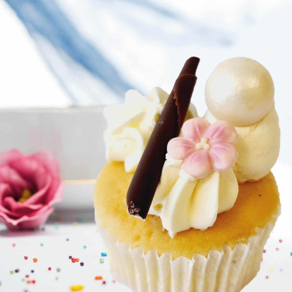 Cupcake vanille crème