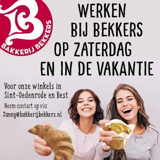 Werken bij Bakkerij Bekkers